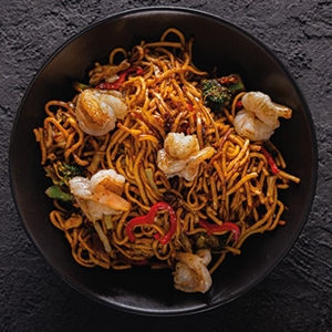 305. Karidesli Noodle / Shrimp Noodle