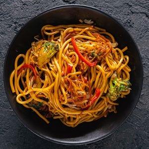308. Sebzeli Udon / Vegetables Udon