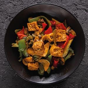 342. Sebzeli Tofu