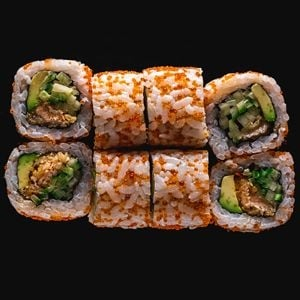 487. Crunchy Salmon Roll