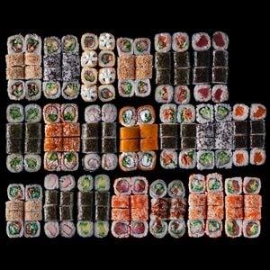 667. King Sushi Set (160 Pcs.)