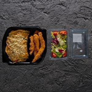 Çıtır Tavuklu Linguine