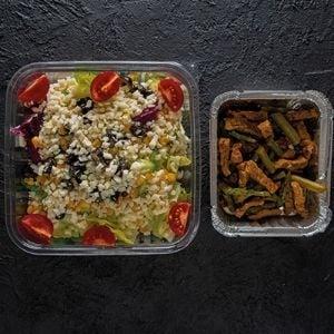 Kuşkonmazlı Etli Salata