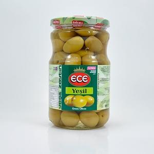 Besler Yeşil Zeytin Çizik Cam Kavanoz (400 gr.)