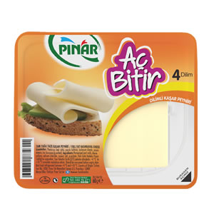 Pınar Aç Bitir Kaşar Peyniri (4 Dilim)