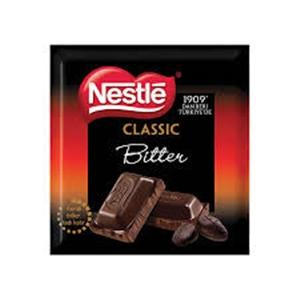 Nestle Bitter Kare Çikolata (80 gr.)