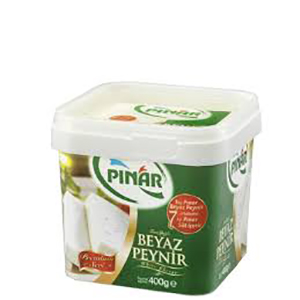 Pınar Premium Serisi Tam Yağlı Beyaz Peynir (400 gr.)