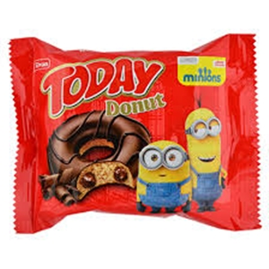 Today Donut Kakao Kaplamalı Kakao Soslu