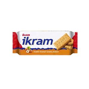 Ülker İkram Fındıklı Kremalı Bisküvi (92 gr.)