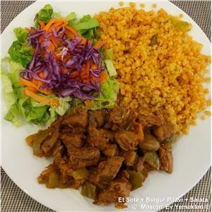 Et Sote + Bulgur Pilavı + Salata