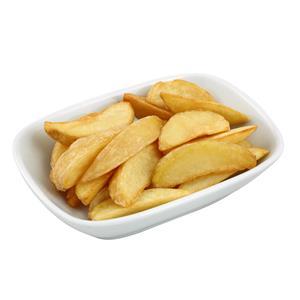 Baharatlı Elma Dilim Patates Kızartması