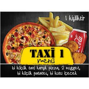 Taxi Menü 1 (1 Kişilik)