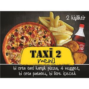 Taxi Menü 2 ( 2 Kişilik)